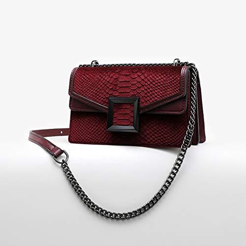 Crossbody One Crocodile Borsa Chain Joker Bag Tracolla A Fashion dwwr8