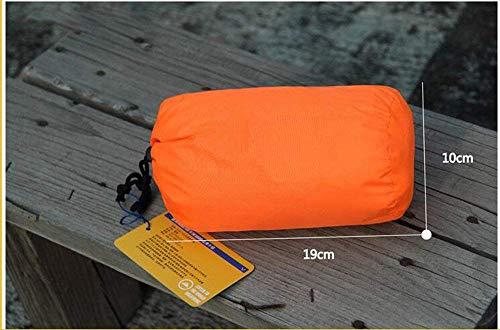 Adelina Impermeable Cubierta De Lluvia Poncho Ropa Lluvia Mochila De Poncho Mejor para La Playa Picnic Acampar Senderismo ect Naranja