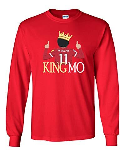 Long Sleeve RED Kansas City Mahomes Make Kansas City Great T-Shirt Adult