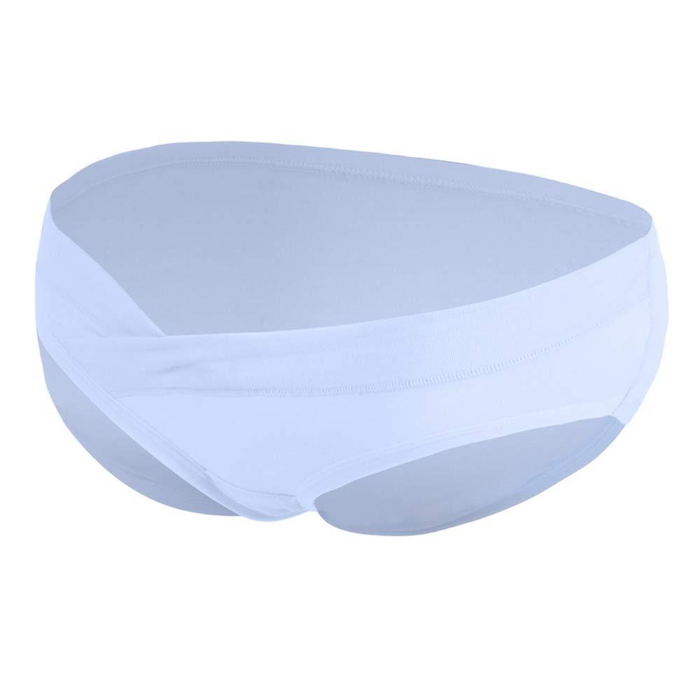 Vertvie Damen 1//7er Pack Unterhosen Unterw/äsche Niedrig Taille Unter dem Babybauch Schwangerschaftsslip Mutterschaft Boxershort Panties