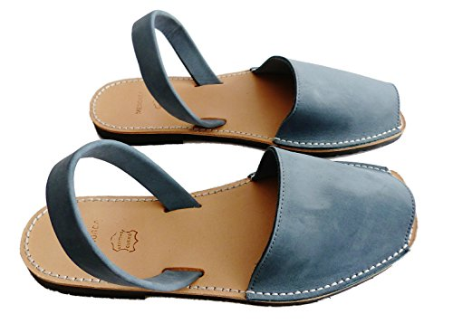 Tejano minorquines Hommes sandales Avarcas authentiques nobuck menorquínas 0q0gX6wR