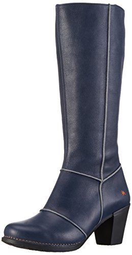 Art Genova, Women's Long Boots Blue (Blue)