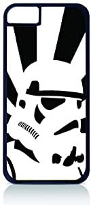 Storm Trooper - Star Wars - Black Tough Plastic Outer Case with Black Hard Lining for For SamSung Galaxy S4 Mini Phone Case Cover (Double Layer Case with Silicone Protection), For SamSung Galaxy S4 Mini Phone Case Cover Universal: Verizon - Sprint - Att - Great Affordable Gift!