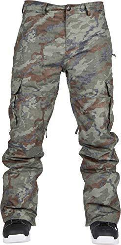 Cargo Snowboard Pants Olive - Bonfire Tactical Snowboard Pants Olive Camo Mens Sz XXL