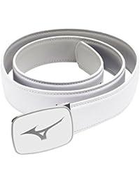 2015 Mizuno Plain Mens Leather Golf Belt - One Size