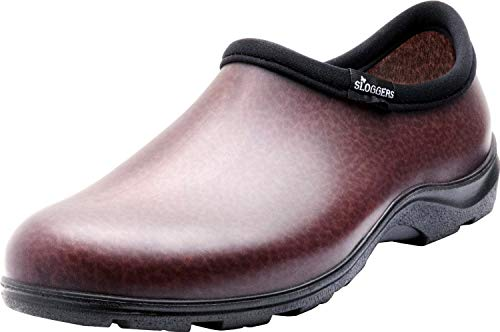 Sloggers Men's Waterproof Shoe with Comfort Insole, Brown, Size 11, Style 5301BN11