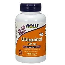 NOW Ubiquinol 100 mg,120 Softgels