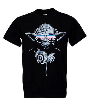 Tshirtmystyle-Yoda Cool Dj Hip Hop Star Wars Man T-Shirt