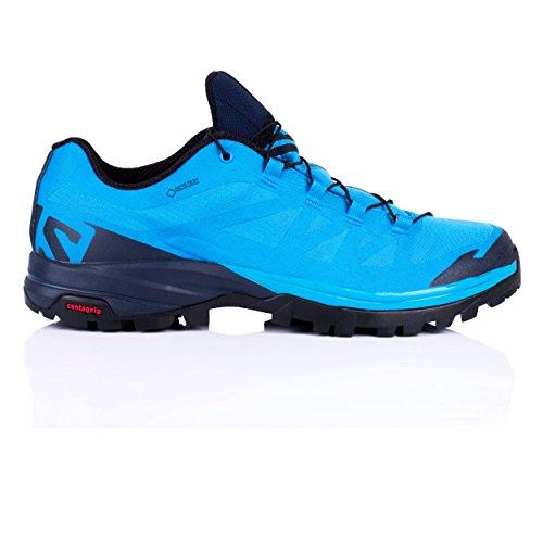 Salomon Outpath GTX, Stivali da Escursionismo Uomo Blue