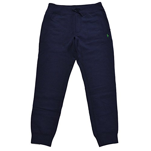Polo Ralph Lauren Mens Jogger Sweatpants (X-Large, Navy Blue) ()