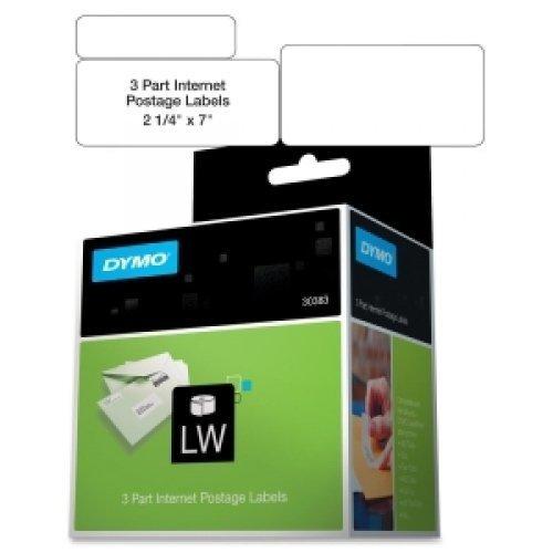 DYMO 30383 3 PART INTERNET POSTAGE LABEL 150 LABELS / 30383 / by (Internet Pc Postage Labels)