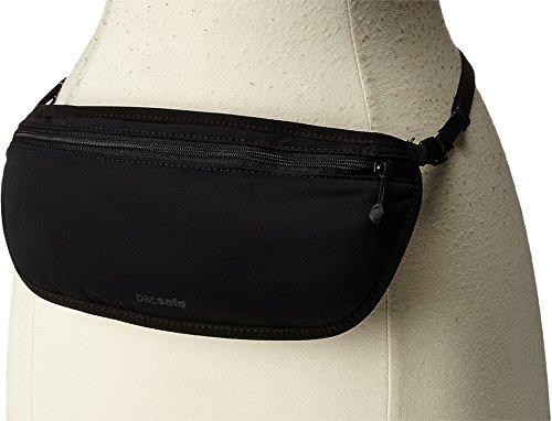 Pacsafe Coversafe S100 Anti-Theft Secret Waist Band Pouch, Black