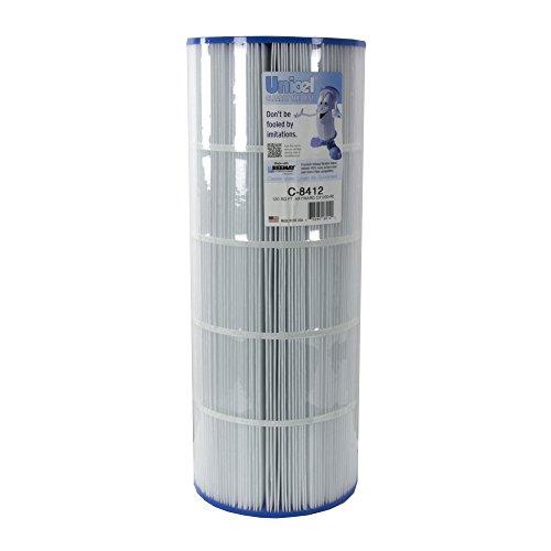 Filter Cartridge Pool (Unicel C-8412 Replacement Filter Cartridge for 120 Square Foot Hayward CX1200RE, Waterway Pro Clean 125, Waterway Clearwater II 125)
