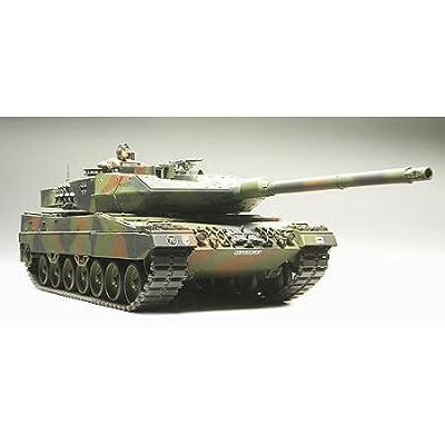 Tamiya America, Inc 1/35 Leopard 2A6 Battle Tank, TAM35271: Toys & Games