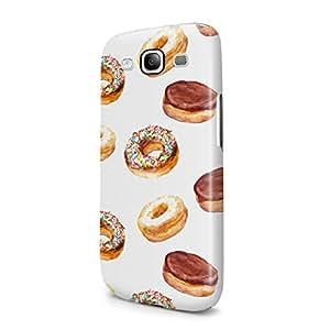 Sweet Sugar Chocolate Donuts Pattern Tumblr Hard Plastic Samsung Galaxy S3 Phone Case Cover