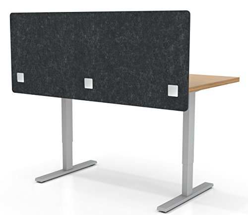 - VaRoom Acoustic Partition, Sound Absorbing Desk Divider - 60