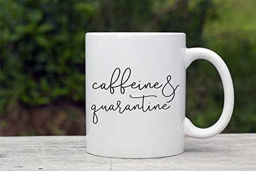 Amazon.com: quarantine coffee mug, caffeine and quarantine