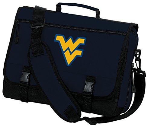 Broad Bay WVU Laptop Bag West Virginia University Computer Bag Messenger Bag by Broad Bay