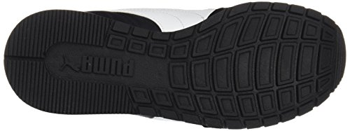 Puma Unisex Fitnessschuhe St Runner v2 NL Cross-Trainer Outdoor Schwarz (Puma Black-White)
