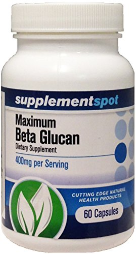 Maximum Beta Glucan, 60 capsules, 400 mg