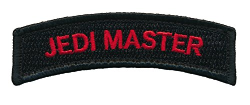 (Patch Squad Men's Jedi Master Embroidered Tab Patch)
