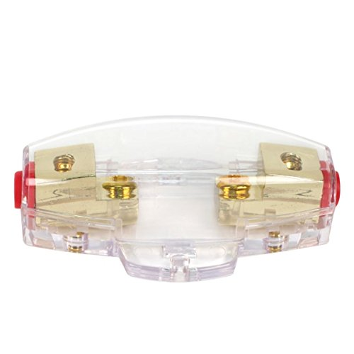 VIAIR 92955 Clear Mini Anl Fuse Holder Only (for 4 Or 8 Gauge Wire), 1 Pcs Per Blister by VIAIR (Image #1)