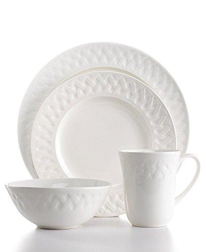 (Martha Stewart Collection 16-piece French Cupboard Dinnerware Set; Service for 4 )