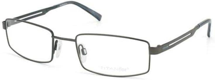 Titanflex Full Rim Rectangular eyeglass Frame 820578-30-54