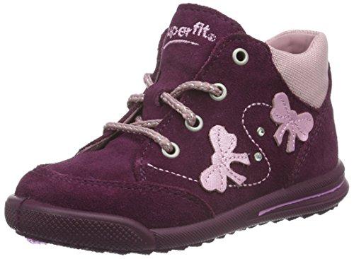 Superfit AVRILE MINI 700372, Baby Mädchen Lauflernschuhe, Violett (MAGIC KOMBI 41), 24 EU