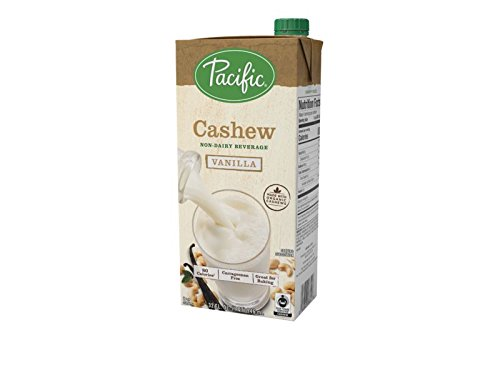 Pacific Foods Fair Trade Made With Organic Cashew, Vanilla, 32 oz by Pacific Foods