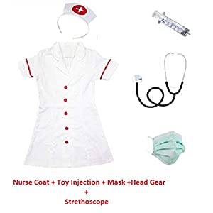 Fancydresswale Nurse Dress for Girls...