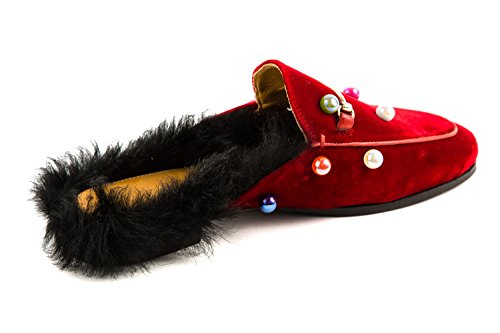 Marciume Casa Melvin Rosso Delle 4 Scarlett Donne Pantofola amp; Hamilton 4q48CF