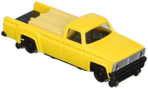 Bachmann Pick Up Truck with High Railers Powered HO (Bachmann Truck)