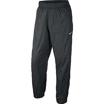 Nike Season Cuff Swoosh Men's Pants Grey/White 611461-060 (Size L)