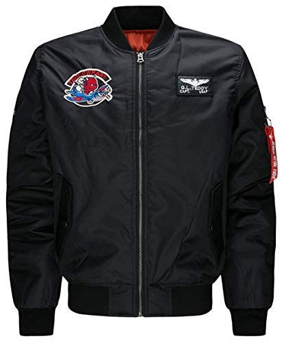 Clothing Down Outerwear Side Moda Jacket 2 Outerwear black Sleeve Jacket Zipper Men's Pockets Long Jackets Outdoor 5qgtn8