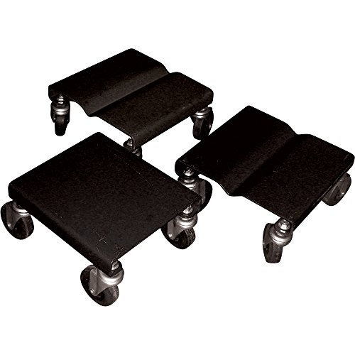Snowmobile Dollies, Set of 3, 1500-Lb. Capacity