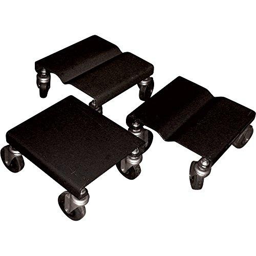 Snowmobile Dollies, Set of 3, 1500-Lb. Capacity ()