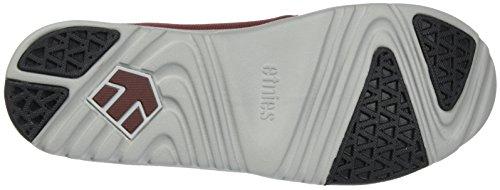 Etnies Scout YB Sneaker Schwarz / Grau / Rot