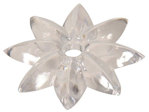 (The Hillman Group 54094 Clear Star Rosette, 1-1/2-Inch, 16-Pack)