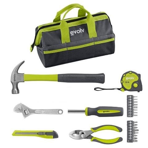 Evolv 23 Piece Homeowner Tool Set  (Craftsman Ratchet Set Max)