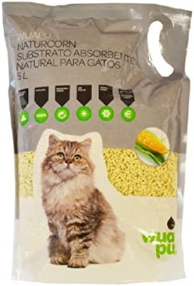 WUAPU NATURCORN 6L: Amazon.es: Productos para mascotas