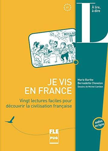 Livre Télécharger Je Vis En France Vingt Lectures Faciles Pour