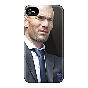 Iphone 6 Hard Back With Bumper Cases Covers The Legend Of Football Zinedine Zidane Thumbs Up