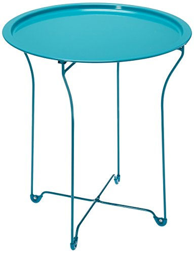 metal accent table - 3