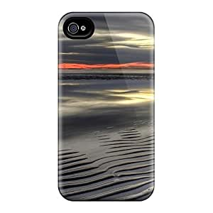 Iphone 4/4s SNevzyn8925zBlgG Grey Sunset In Brisbane - Australia Tpu Silicone Gel Case Cover. Fits Iphone 4/4s