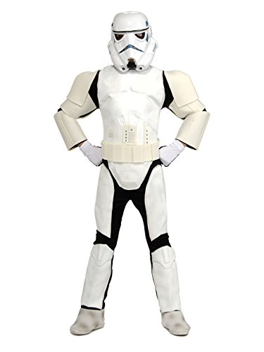 Star Wars Child's Deluxe Stormtrooper Costume, Medium (Stormtrooper Utility Belt)
