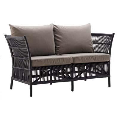Sika Design 2-Sitzer Sofa Donatello Schwarz