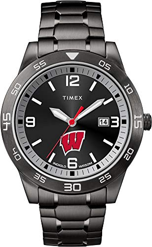 - Timex University of Wisconsin Badgers Men's Black Acclaim Watch