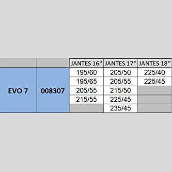 13 Michelin 008313 Easy Grip Evolution Cha/îne /à Neige Composite
