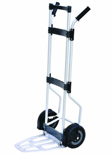 Milwaukee Hand Trucks 33898 Aluminum Fold Up Truck with Dual Handles